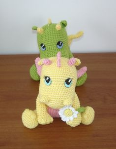 Crochet Baby Dragon Pattern Free Tutorial | The WHOot
