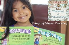 Faith In Small Things: Homeschooling the Catholic way: Day 1: Speak the language of virtues