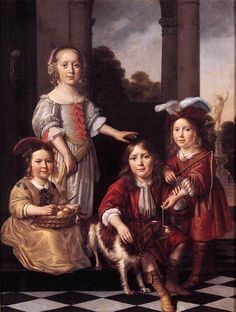 It's About Time: 16C-17C European & English Children & their Dogs