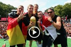 Im Video - Die Weltmeister lassen sich in Berlin feiern