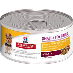 Hills Science Diet Adult Small  Toy Breed Savory Stew with Chicken  Vegetables Canned Dog Food 55 oz 24pack -- Read more reviews of the product by visiting the link on the image. (This is an affiliate link)