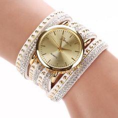 Dámské náramkové hodinky GENEVA bílé – dámské hodinky Na tento produkt se  vztahuje nejen zajímavá sleva c81f05fb8b