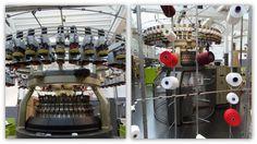 K L E U R R I J K: Bezoek aan het TextielMuseum in Tilburg : TextielLab > rondbreimachine