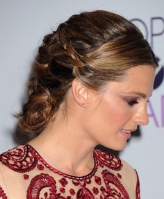Stana Katic at the Peoples Choice Award 2014 #stanakatic #queenofhairporn #hairporn