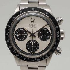 "Rolex ""Paul Newman"" Daytona (Ref. 6263) from 1971 with an MK1 ""Panda"" dial"