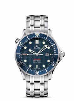 OMEGA Watches: Seamaster 300 M Quartz - Steel on steel - 2221.80.00