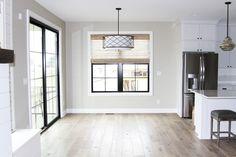 At Oakstone Homes, we look for flooring that resembles reclaimed wood floors. We love character in our flooring and Hallmark Floors. Reclaimed Wood Floors, Hardwood Floors, Modern Farmhouse Design, Building Design, Great Rooms, Flooring Ideas, Interior Design, House Ideas, Rest