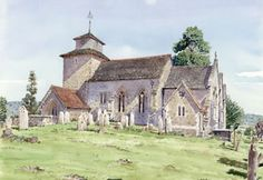 Wootton On The Hill Church Surrey - Church Art by John Lynch