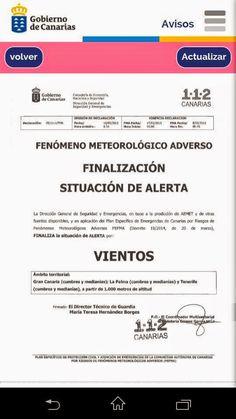 Descoordinación alertas en Canarias