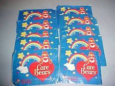 CARE BEARS 1985 Panini Sticker packs.