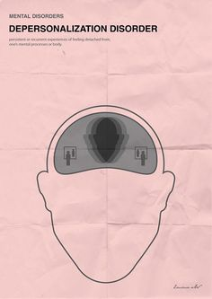 'Minimal posters about mental disorders': Depersonalization Disorder