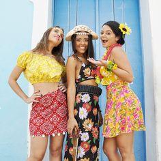 Na nossa folia sertaneja tem ciganinha, Maria Bonita e havaiana. Até 19 hs no Babado de Carnaval. #BloquinhodaExpedita