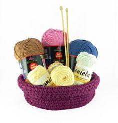 Návod na háčkované srdíčko, Pletanky Baby Alpaca, Wicker Baskets, Decor, Decoration, Decorating, Woven Baskets, Deco