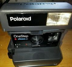 Polaroid One Step 600 Close Up With Strap Clean and Tested