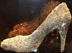 World's Most Expensive Pair of Shoes 2013 costs $418,000.00  By shoe designer Kathryn Wilson. The heels are covered in 21.18 carats of diamonds to be exact. Wilson's painstaking labor included more than 50 hours of applying the delicate diamonds by hand.