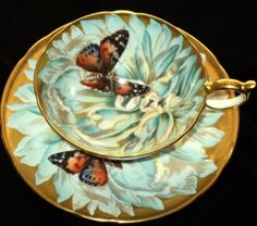 Aynsley Butterfly Deco Athens