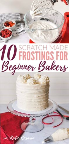 icing recipe for cake * icing recipe ; icing recipe for cake ; icing recipe for sugar cookies ; icing recipe without powdered sugar ; Cakes To Make, How To Make Frosting, Homemade Frosting, Frosting Recipes, Homemade Cakes, How To Make Cake, Frosting Tips, Simple Frosting Recipe, Buttercream Frosting