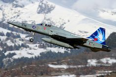 Swiss AF F-5E J-3038@Sion
