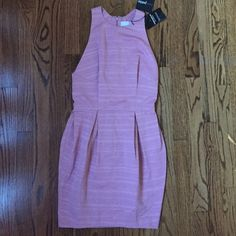 Pink very cute formal dress nwt asos Formal very cute pink dress nwt from asos-perfect for any upcoming event and wedding thanks happy shopping! ASOS Dresses Midi