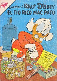CUENTOS DE WALT DISNEY - AÑO IX - Nº145 El tio rico mac pato