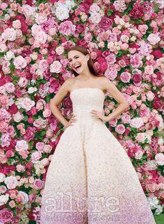 Natalie Portman by Tim Walker for Miss Dior