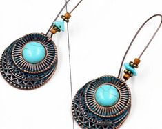 Kiss your etiquette by PUREEVERSTYLISH on Etsy Round Earrings, Kiss You, Etiquette, Turquoise Necklace, Etsy Seller, Pendant Necklace, Jewelry, Jewellery Making, Jewlery