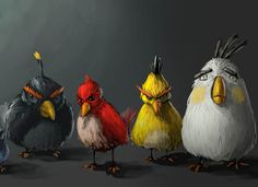 #AngryBirds