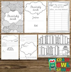 Crazy Owl, Classroom Activities, Primary School, Diy And Crafts, Bullet Journal, Lettering, Education, Studio, Learning