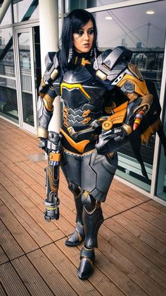 Cosplay: Pharah Anubis from Overwatch Cosplay Anime, Epic Cosplay, Amazing Cosplay, Cosplay Girls, Female Cosplay, Armadura Cosplay, Video Game Cosplay, Halloween Disfraces, Monster Hunter