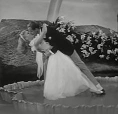 The only time they really kissed in their first 9 movies - totally worth the wait, it's in slow motion