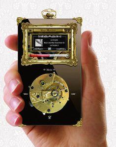 Un iPod #Steampunk ça vous tente ? #Metal Austral