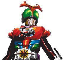 kamen rider strong by seanlon on DeviantArt Rider Strong, Japanese Superheroes, Hero World, Kamen Rider, Power Rangers, Godzilla, Illustration Art, Comic Books, Deviantart