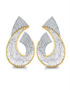 Online Diamonds Jewellery | diamonds4you.com Dazzling diamond earrings  EAR RING,  Hoops & Huggies