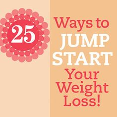 Jump-Start Your Weight Loss Today! - Have you made a resolution to lose weight? We can help! We asked members of Diabetic Living's advisory board to share their top 25 weight-control tips. Use their advice to get started, stay motivated, or invigorate your weight loss routine...