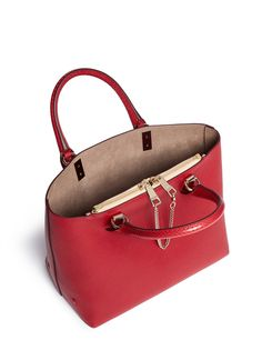 CHLOÉ - 'Baylee' small leather tote | Red Day Top Handles | Womenswear | Lane Crawford