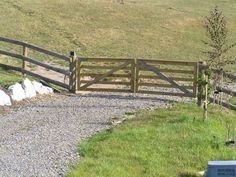 wooden farm gates - Google Search