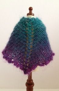 September shawl for Blythe – free knitting pattern