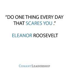 Eleanor Roosevelt Leadership Quote
