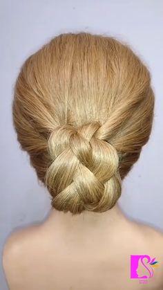 Hairstyles For Medium Length Hair Tutorial, Hair Tutorials For Medium Hair, Hairdo For Long Hair, Long Hair Video, Hair Up Styles, Medium Hair Styles, Diy Hairstyles, Evening Hairstyles, Hair Cutting Techniques