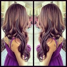 Lovely Brown Hair - Hairstyles and Beauty Tips