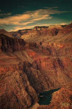 Breathtaking views from the Grand Canyon.. on the list of places to explore.