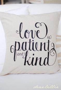 Dear Lillie: Love Is... Pillow Cover Set