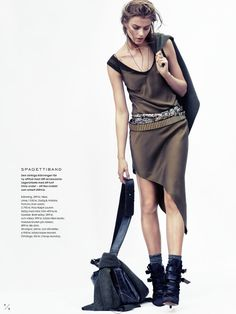 visual optimism; fashion editorials, shows, campaigns & more!: kamouflerad: lone praesto by honer akrawi for elle sweden september 2014