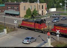 Cloquet Terminal SW-1 33 rolls past the iconic Northeastern Hotel on Dunlap Island in Cloquet, Minnesota. The Cloquet Terminal operates over the former Duluth & Northeastern. This was of several shots set up for the attendees of Railfan Weekend in Duluth, put on by Steve Glischinski and the Lake Superior Railroad Museum. A big thanks is due to the staff of the Cloquet Terminal for making this happen!