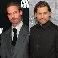Pin for Later: These Celebrity Look-Alikes Will Blow Your Mind Josh Holloway and Nikolaj Coster-Waldau