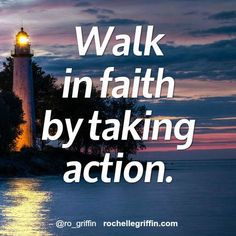 You may not have a lighted path, but trust and go for it! Amazing things happen as a result of faith!