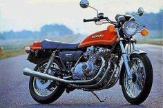 1976 Suzuki - My third bike Dirt Bikes, Road Bikes, Vintage Motorcycles, Cars And Motorcycles, Bike Photography, Japanese Motorcycle, Suzuki Gsx, Vintage Bikes, Street Bikes