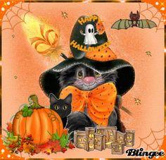 Happy halloween kittens Picture #117313379   Blingee.com