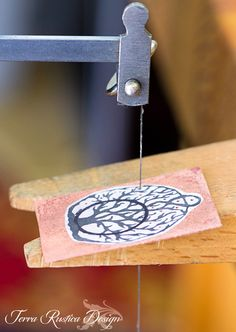 Love My Art Jewelry: Sawing and piercing metal tutorial and tips