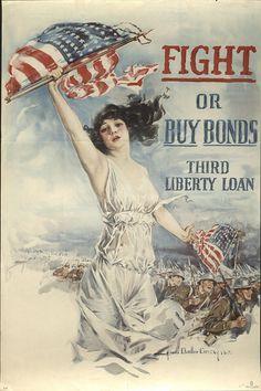 Third Liberty Loan Act World War I poster